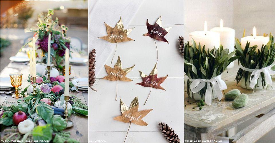 Autumn Table Inspiration | sheerluxe.com