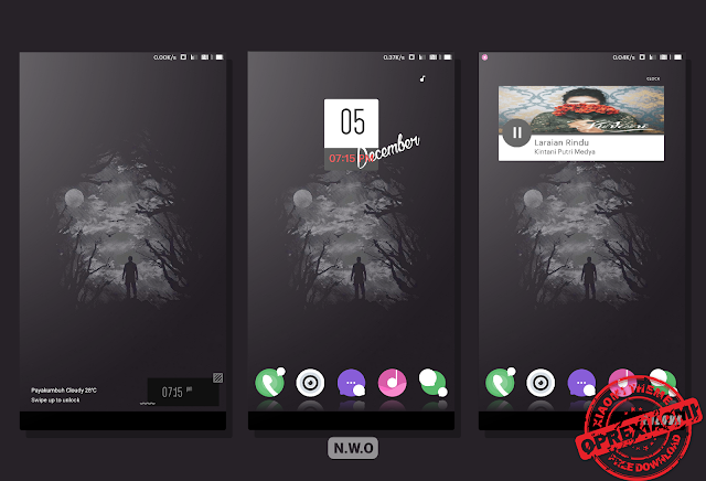 New Update Xiaomi Theme N.W.O Mtz Full Dark Tembus Ke