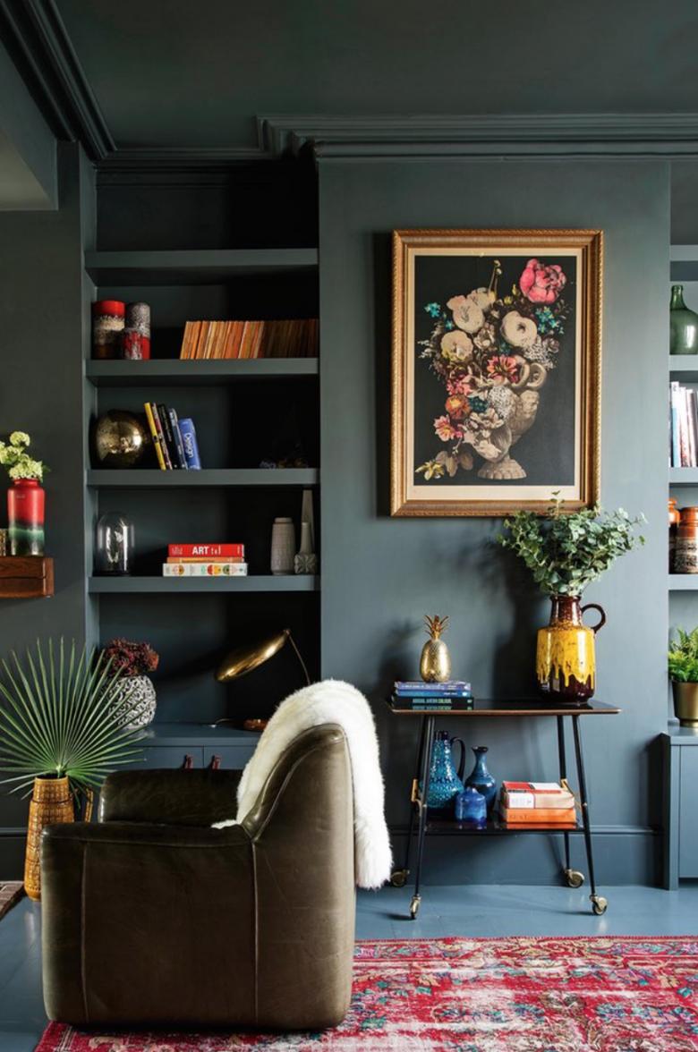 Bite Size Design Tip Decorating in One Colour Home Decor