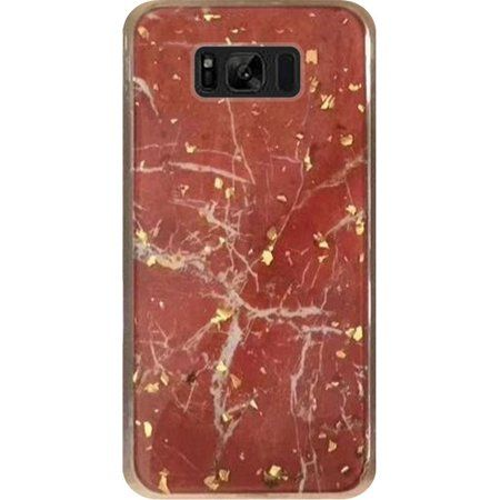 new style cea53 5470e Samsung Galaxy S8 Case, by Insten Marble Glitter Hard Plastic/Soft ...