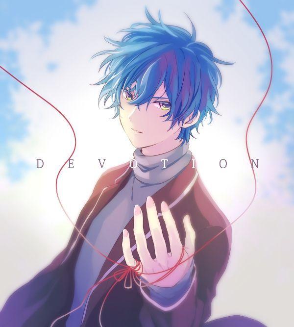 Pin By Hananailaff On Anime Blue Hair Blue Hair Anime Boy Anime