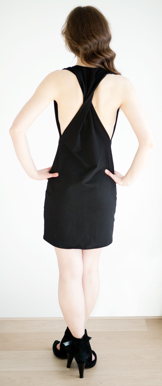 Manis twisted back dress