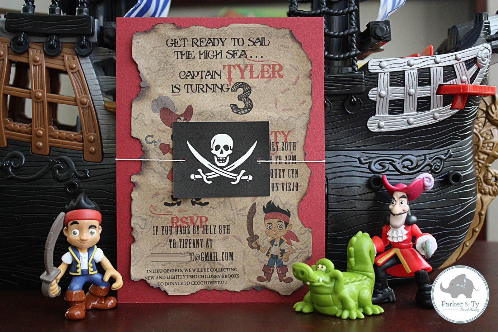 Pirate Party Invitations Free Printable | Pirate Party | Pinterest ...