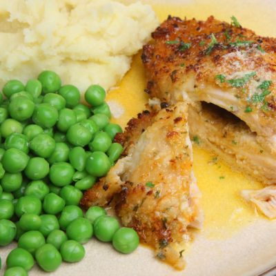 how to cook raw chicken kiev