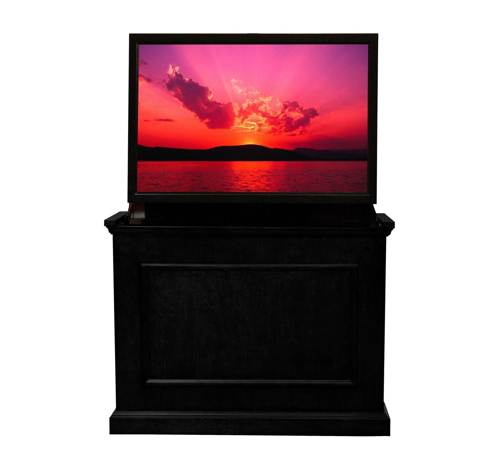 Touchstone TV Lift Cabinet Elevate Black Model