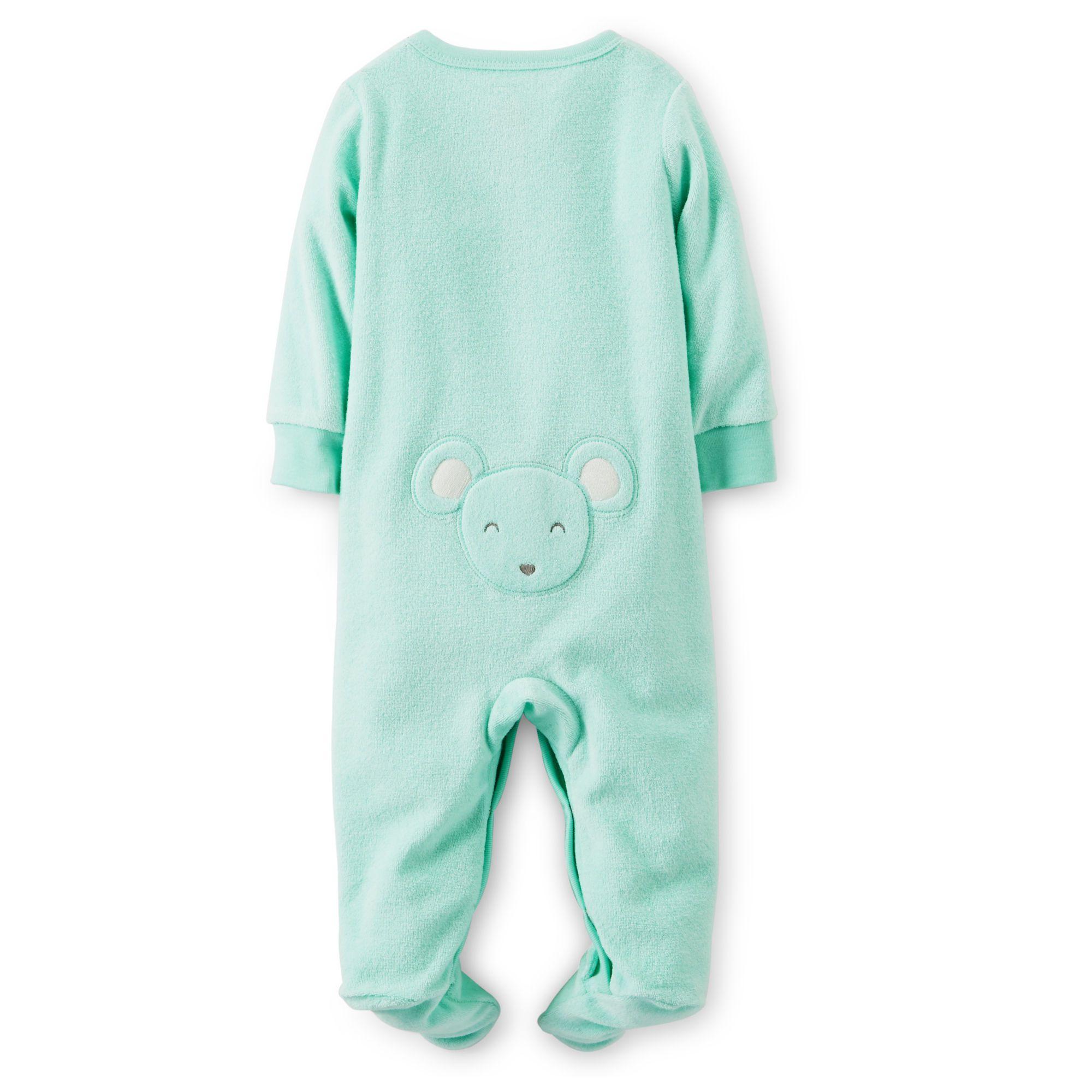 Ampliar Mameluco Verde Manga Larga Color Verde Menta Tienda En Línea Para Ropa De Bebé Niño Y Niña Ma Carters Baby Girl Baby Sleepers Childrens Clothes
