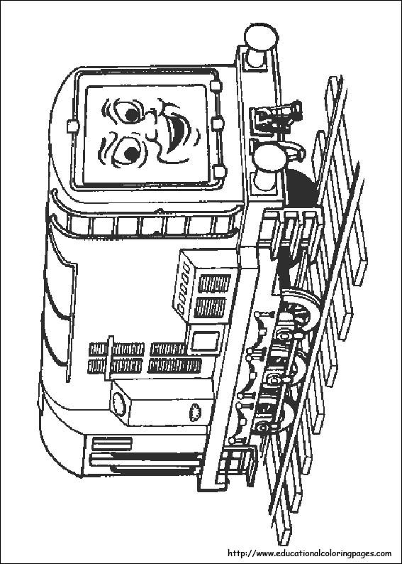 Thomas The Train Coloring Pages Free For KidsThomas