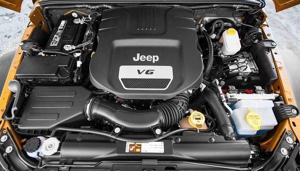 2017 Jeep Wrangler Engine