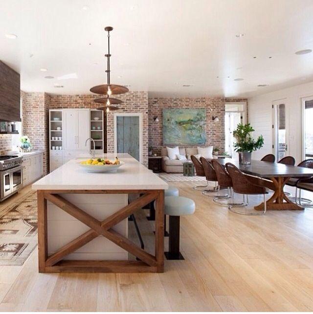 9 fotos de cocinas abiertas amplia el espacio de tu hogar for Concepto de cocina abierta