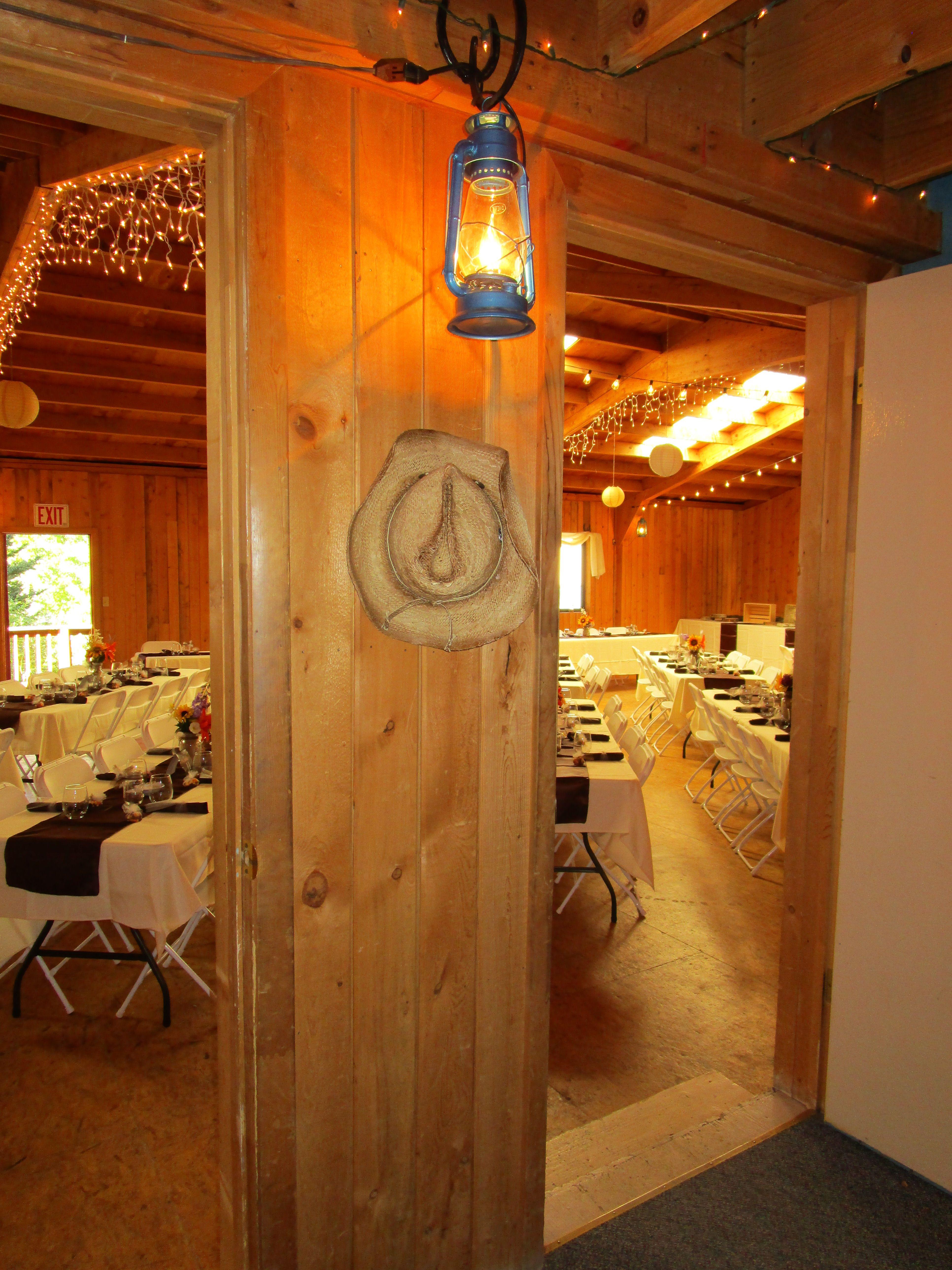 Simple Western meets Formal and Elegant!   Rustic wedding ...