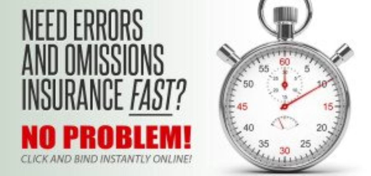 Errors omissions insurance cheap rates requirements