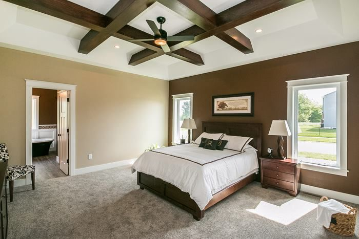 Master Bedroom Plush Carpet In A Speckled Color White Window Trim, Window  Trims, Bedroom