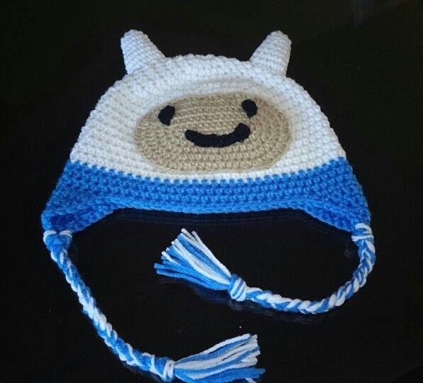 Finn Crochet hat / gorro Hora de aventura