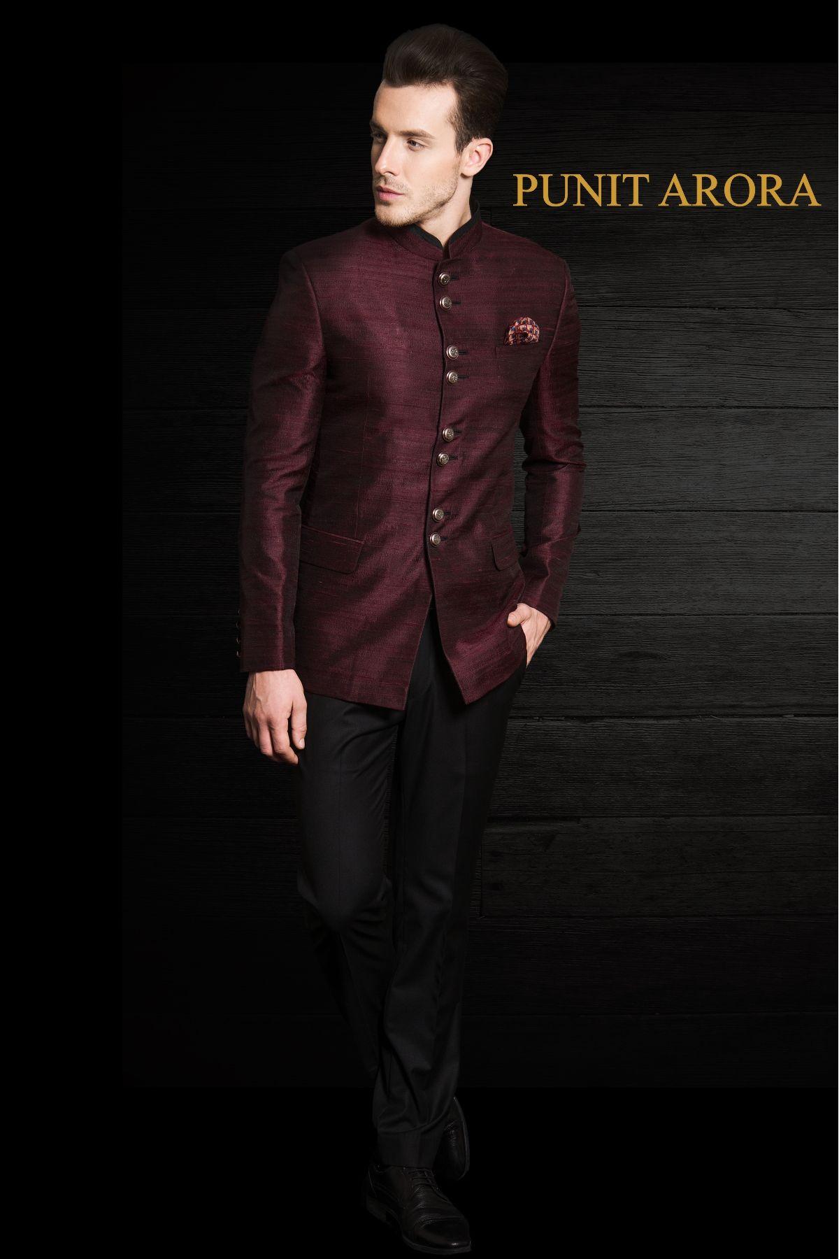 Pin by Punit Arora on Bandhgalas | Pinterest | Indian groom wear ...