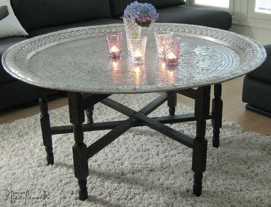 TineKHomen marokkolainen pöytä. Looooove this!