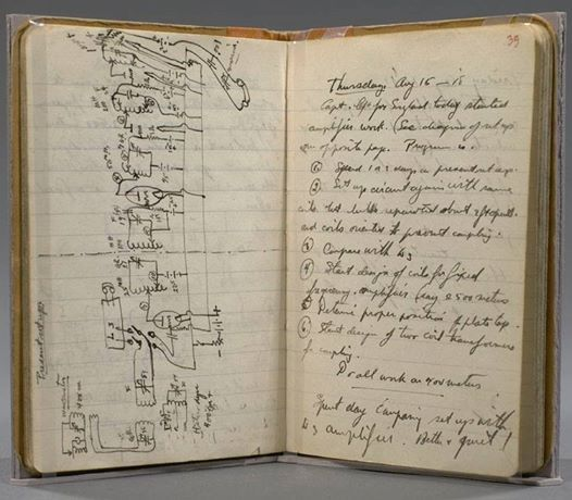Marie Curie's notebook | Notebooks | Pinterest