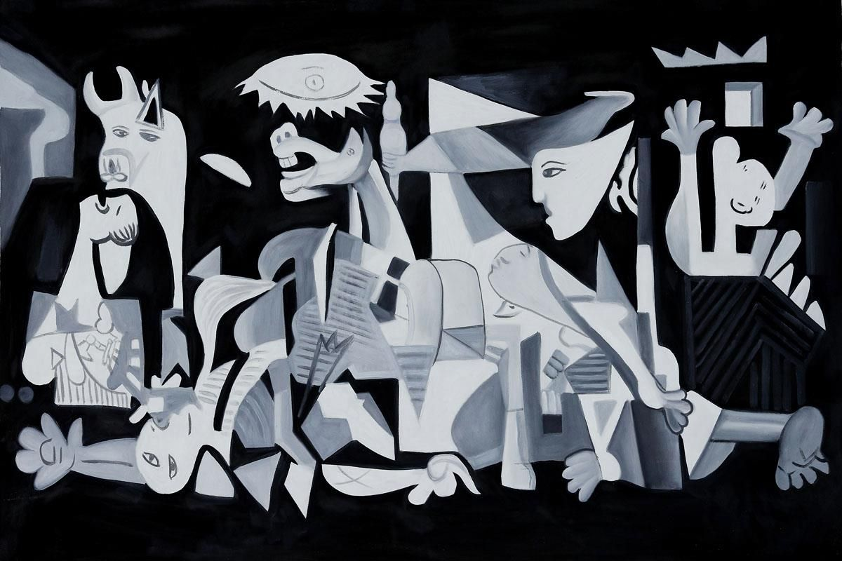 guernica and essays Guernica essay writing service, custom guernica papers, term papers, free guernica samples, research papers, help guernica is an art work that was done by pablo picasso, in reaction to.