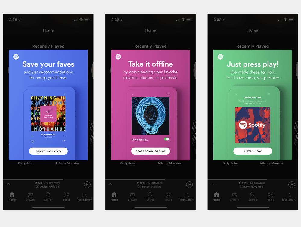 SPOTIFY Matt Singleton Spotify, App design, Spotify mobile