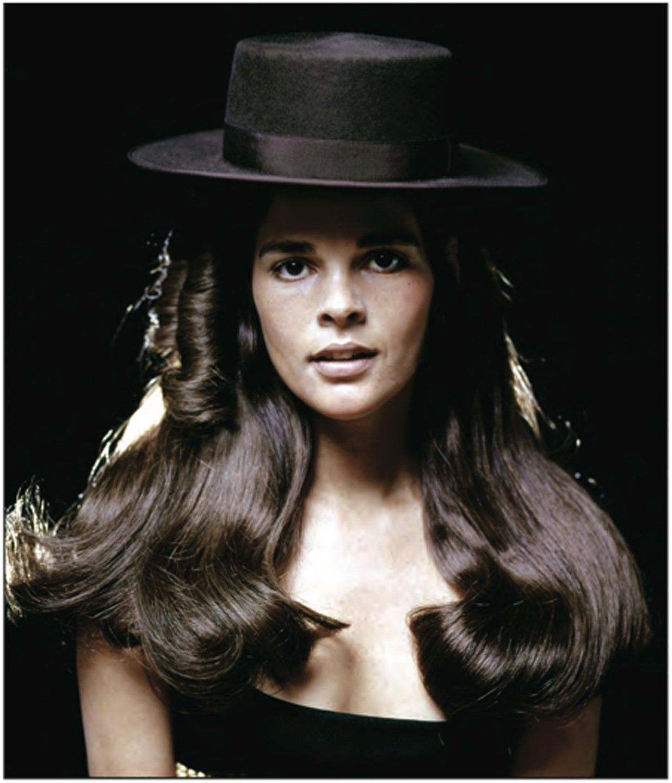 Ali MacGraw - photo by Milton Greene - 1969