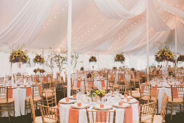 Hochzeit feiern im zelt hochzeitsblog for Festzelt dekoration
