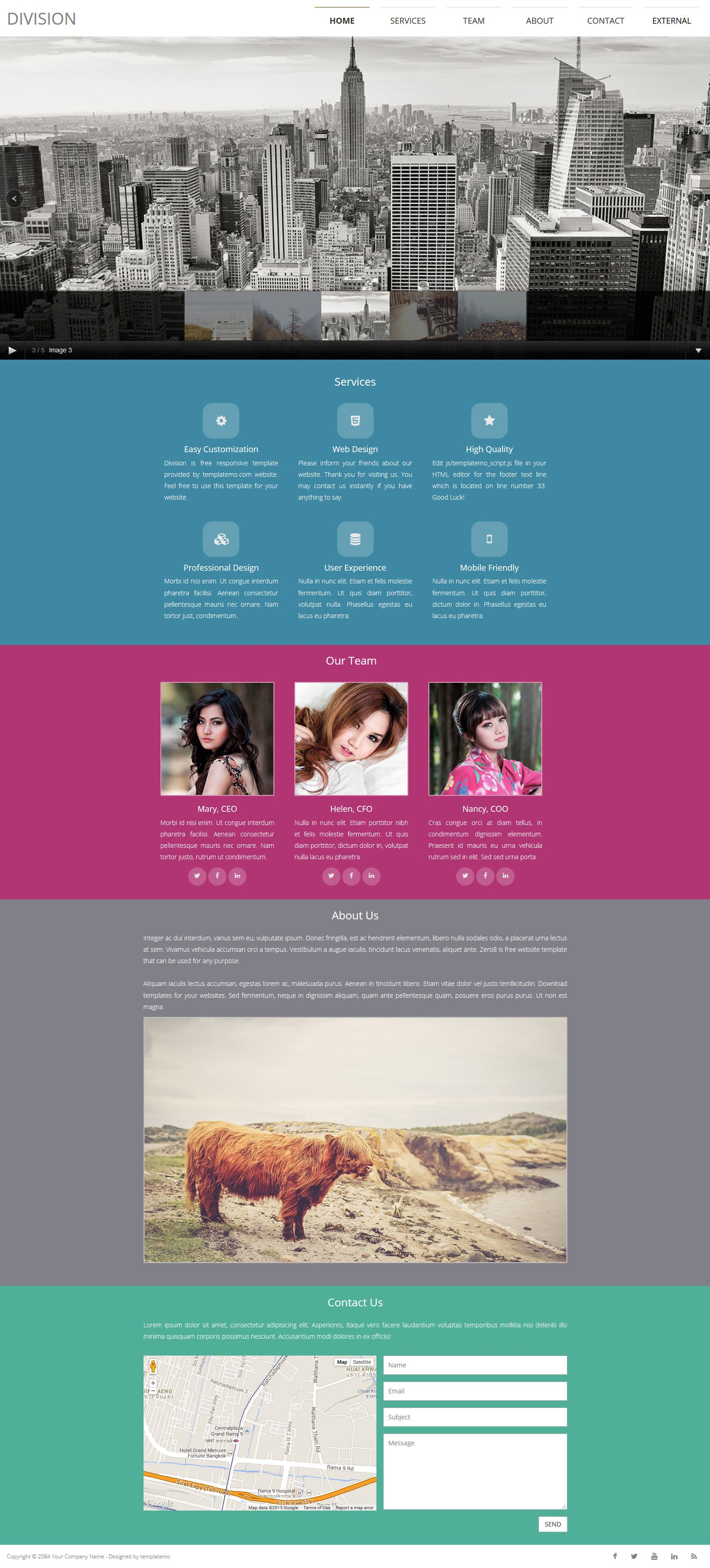 448 Division Template Css Templates Html And Css Templates Css Website Templates