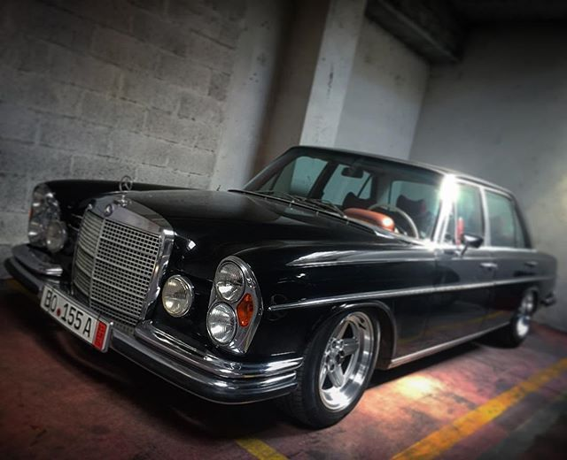 Stance 300sel63 Mercedes 300sel 6 3 W109 With Images