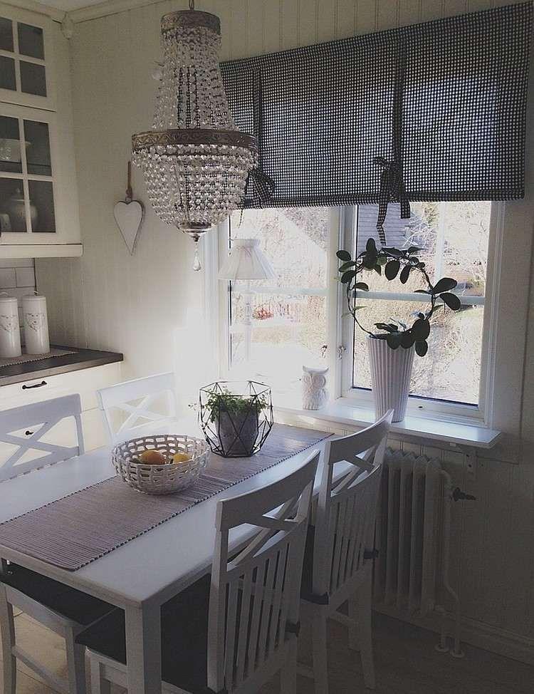 55 Rideaux De Cuisine Et Stores Pour Habiller Les Fenêtres De