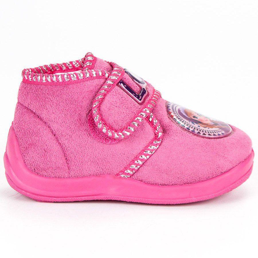 Kapcie Dzieciece Dla Dzieci Butymodne Rozowe Kapcie Kraina Lodu High Top Sneakers Sneakers High Tops