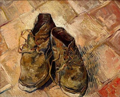 TheHistorialist: AT THE MUSEUM [ON HIS WAY TO THE RECORD STORE] | VINCENT VAN GOGH'S SHOES |