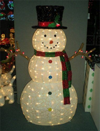 Frosty Wants A Hug 48 Outdoor Indoor Lighted Snowman 105 Lights Frosty Wants A Hug Snowman Outdoor Decorations Outdoor Holiday Decor Snowman Decorations