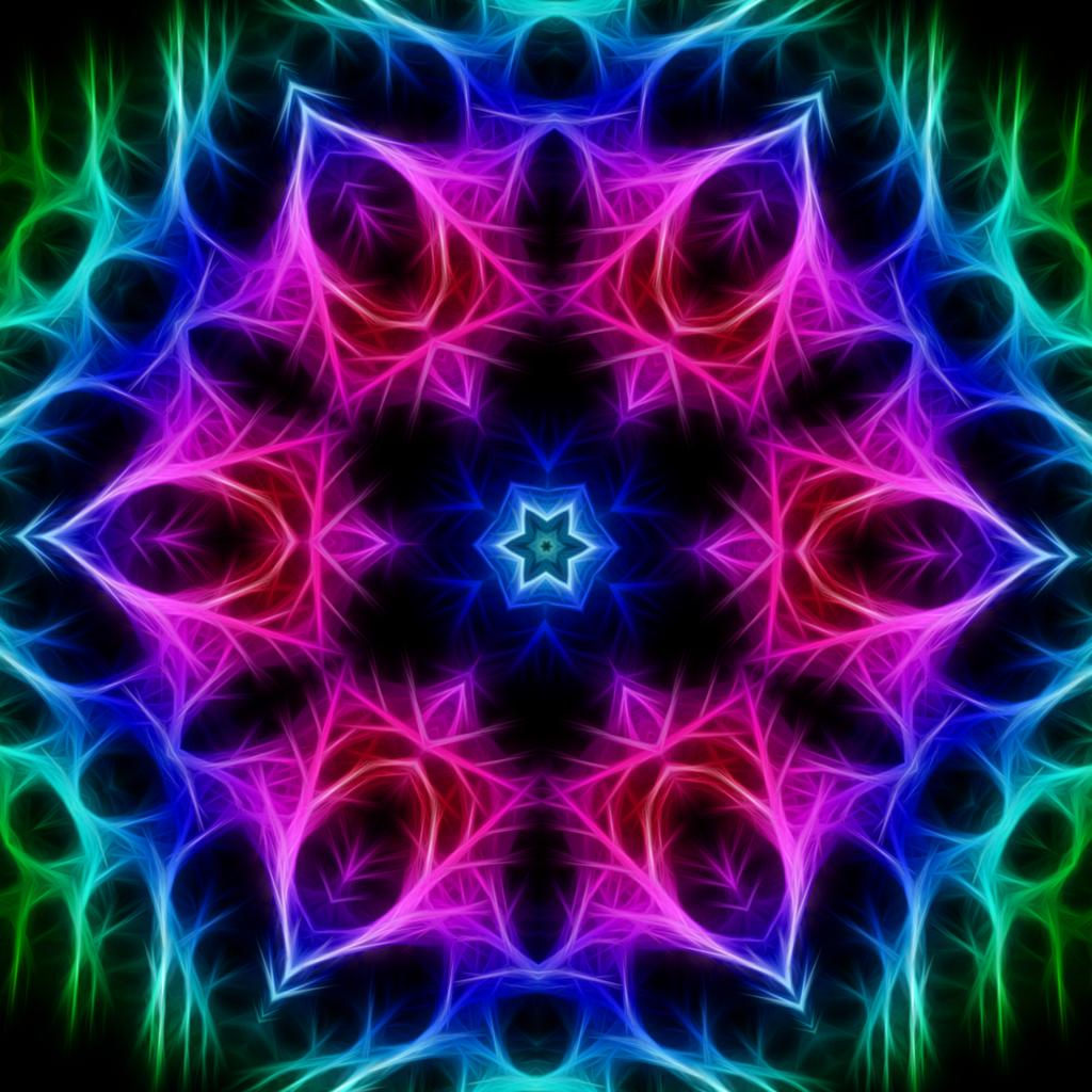 Kaleidoscope 80 By Huntercobb98 On Deviantart Fractal Art Colorful Art Mandala Wallpaper