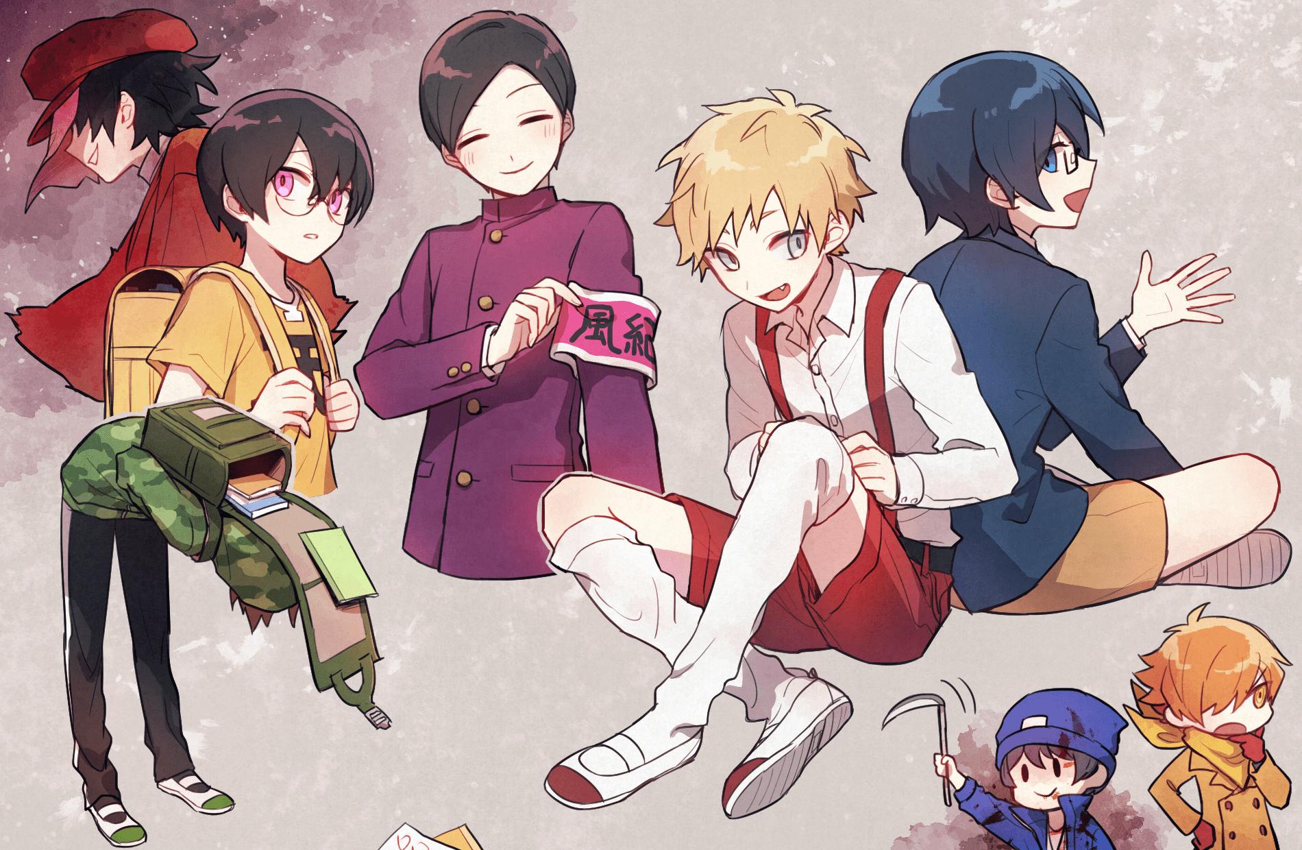 wataobi on twitter cute anime boy anime boy art day