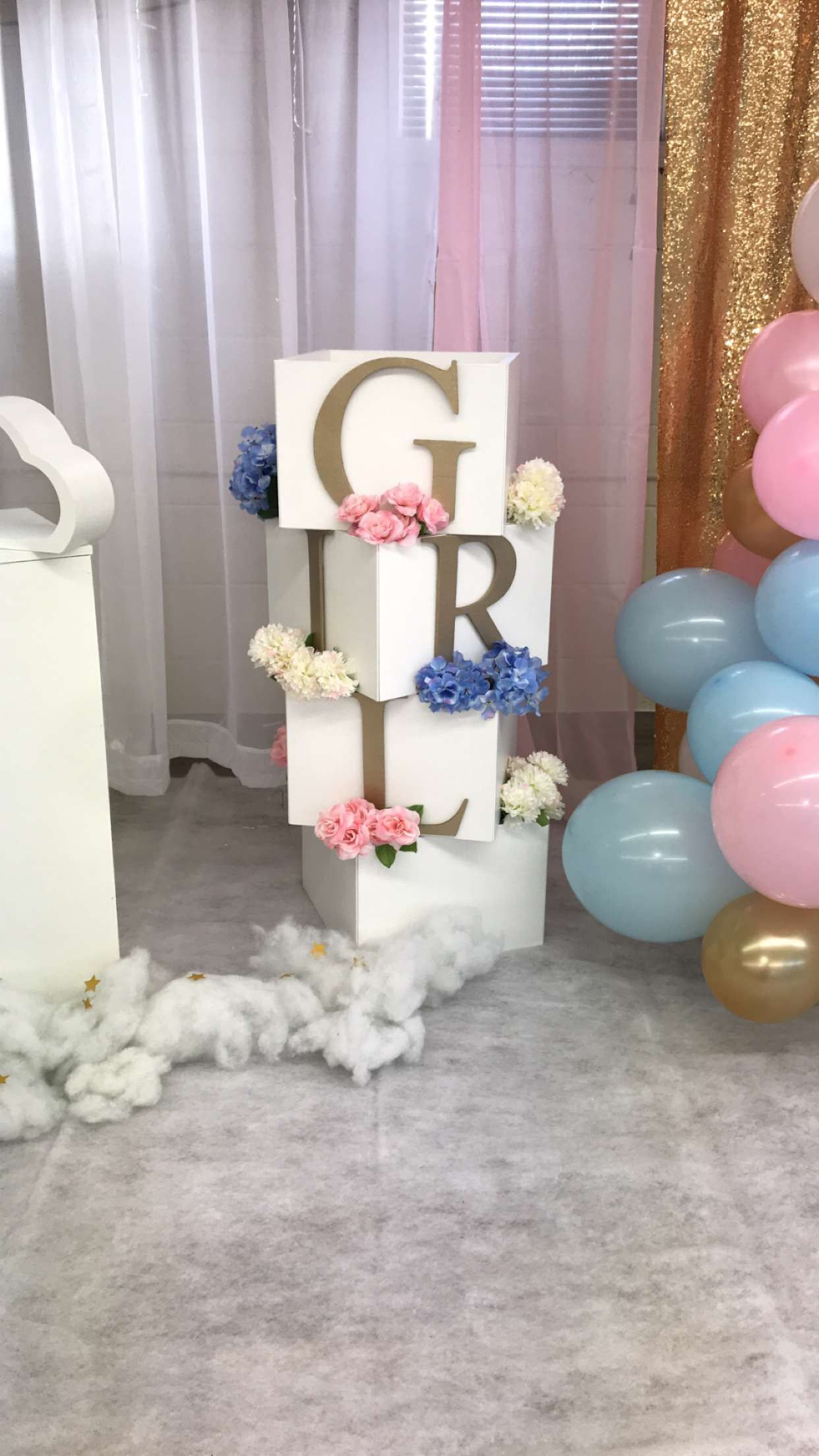 Pin By Ididthat Decor On Name Box Baby Shower Decorations Baby Shower Shower Decorations