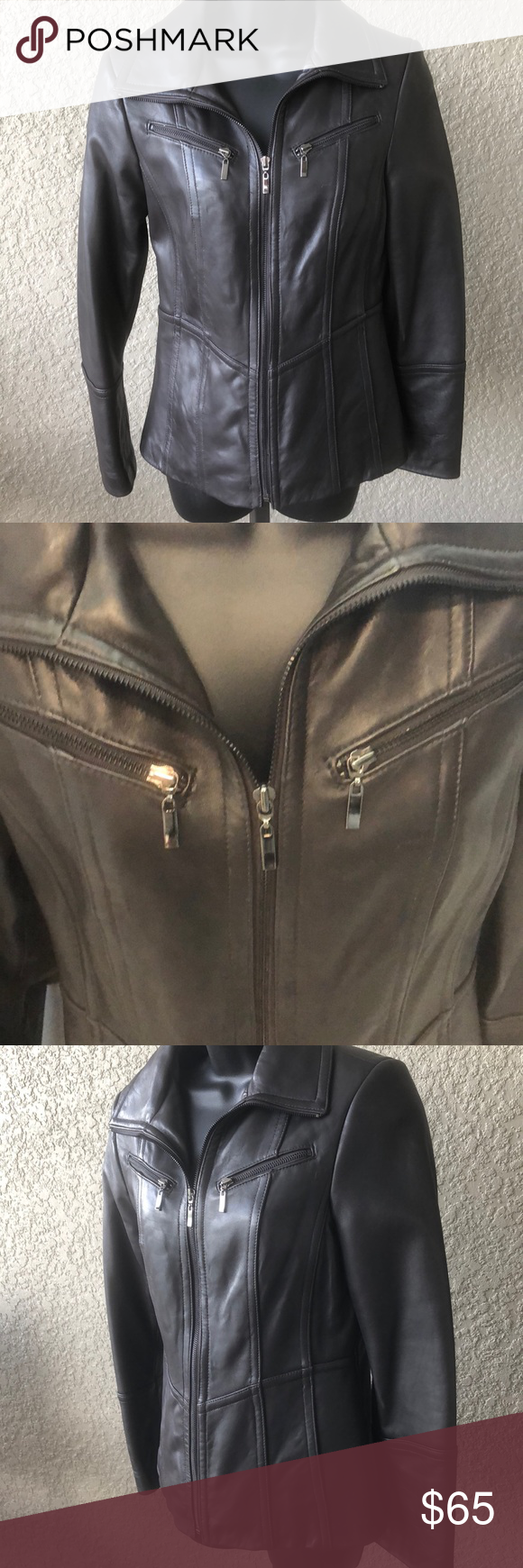 Bromley Chocolate Brown Leather Jacket Brown Leather Jacket Leather Jacket Jackets [ 1740 x 580 Pixel ]