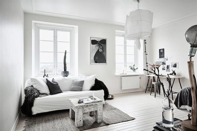 Trend ALERT decoración blanco \ negro, GRIS Estilo industrial