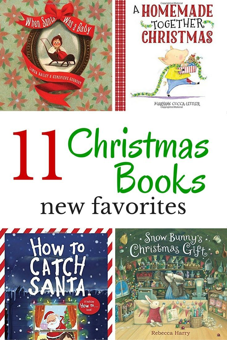 Add a few new Christmas books for kids favorites to this year's reading list.