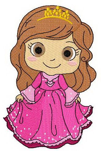 Like A Princess Embroidery Design Princesses Machine Embroidery