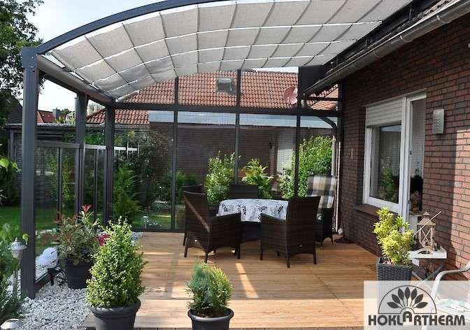 Terrassenüberdachung aus Aluminium  Glas günstig online kaufen - auswahl materialien terrassenuberdachung