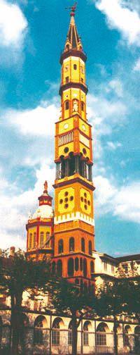 Torino - Campanile N. Signora del Suffragio - I Luoghi della 4 - San Donato Campidoglio Parella