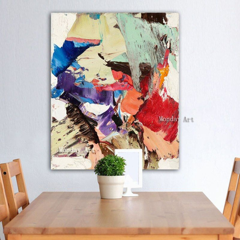 Abstract Oil Painting Handpainted Canvas Paintings Wall Pictures