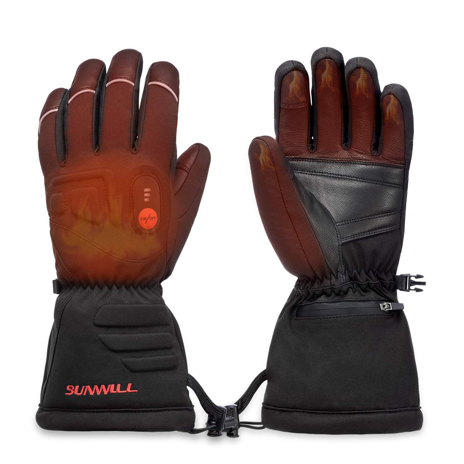 Sun Will Heated Gloves For Men Women Electric Rechargeable Ski Motorcycle Cycling Mountaineering Warm Gloves Arthritis In 2020 Heated Gloves Winter Mittens Warm Gloves