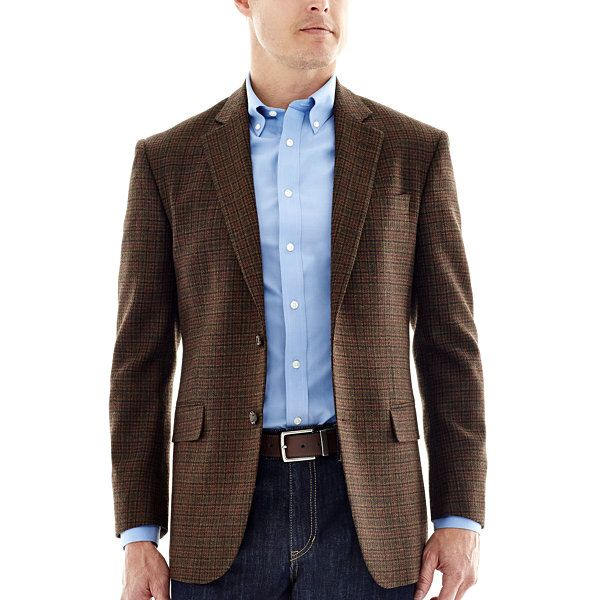 da42b6952 Stafford® Signature Merino Wool Sport Coat