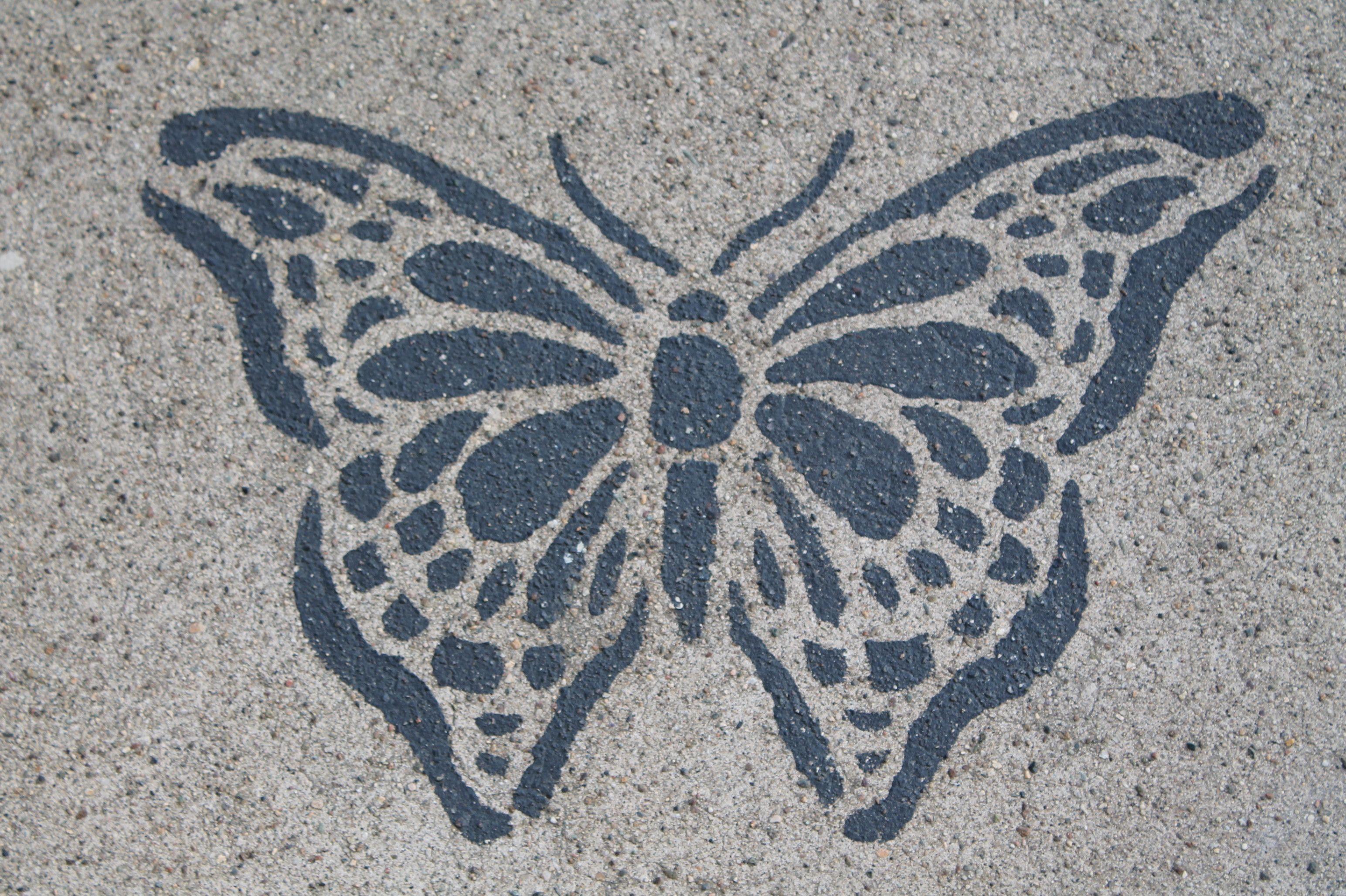 It's a street butterfly