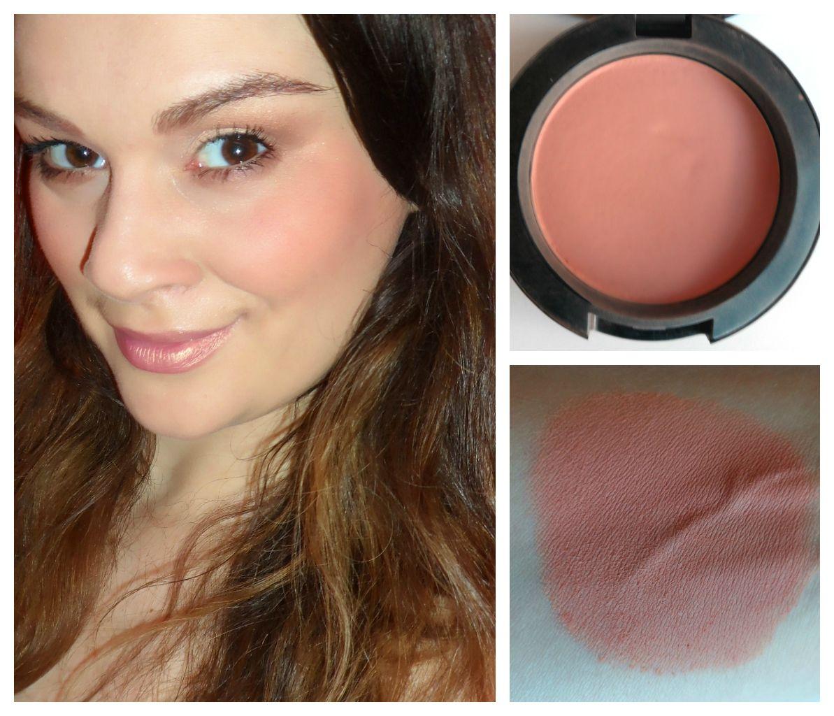 MAC Blush in Melba Melba is a matte peachy pink blush that ...