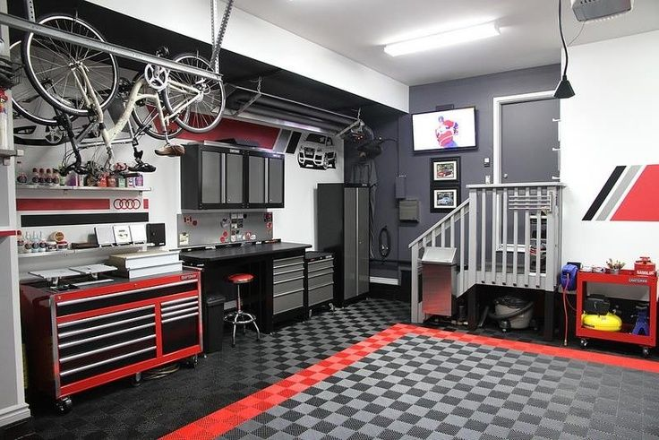 garage storage ideas storage pinterest garage storage modern garage and storage ideas. Black Bedroom Furniture Sets. Home Design Ideas