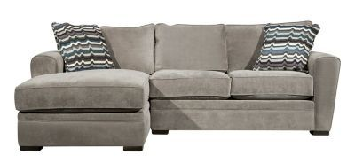 Stupendous Artemis Ii 2 Pc Microfiber Sectional Sofa Shop The Look Pdpeps Interior Chair Design Pdpepsorg