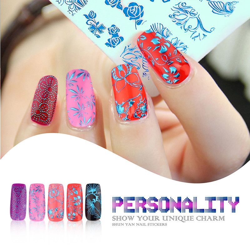 Candy Lover Newest 3D Nail Art Stickers Top Quality Mix Design Nail ...