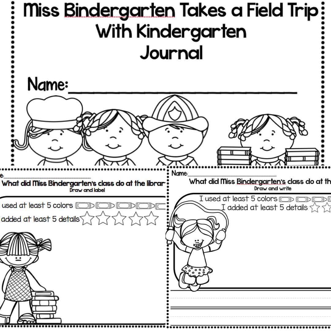 Now Only 1 00 Miss Bindergarten Takes A Field Trip