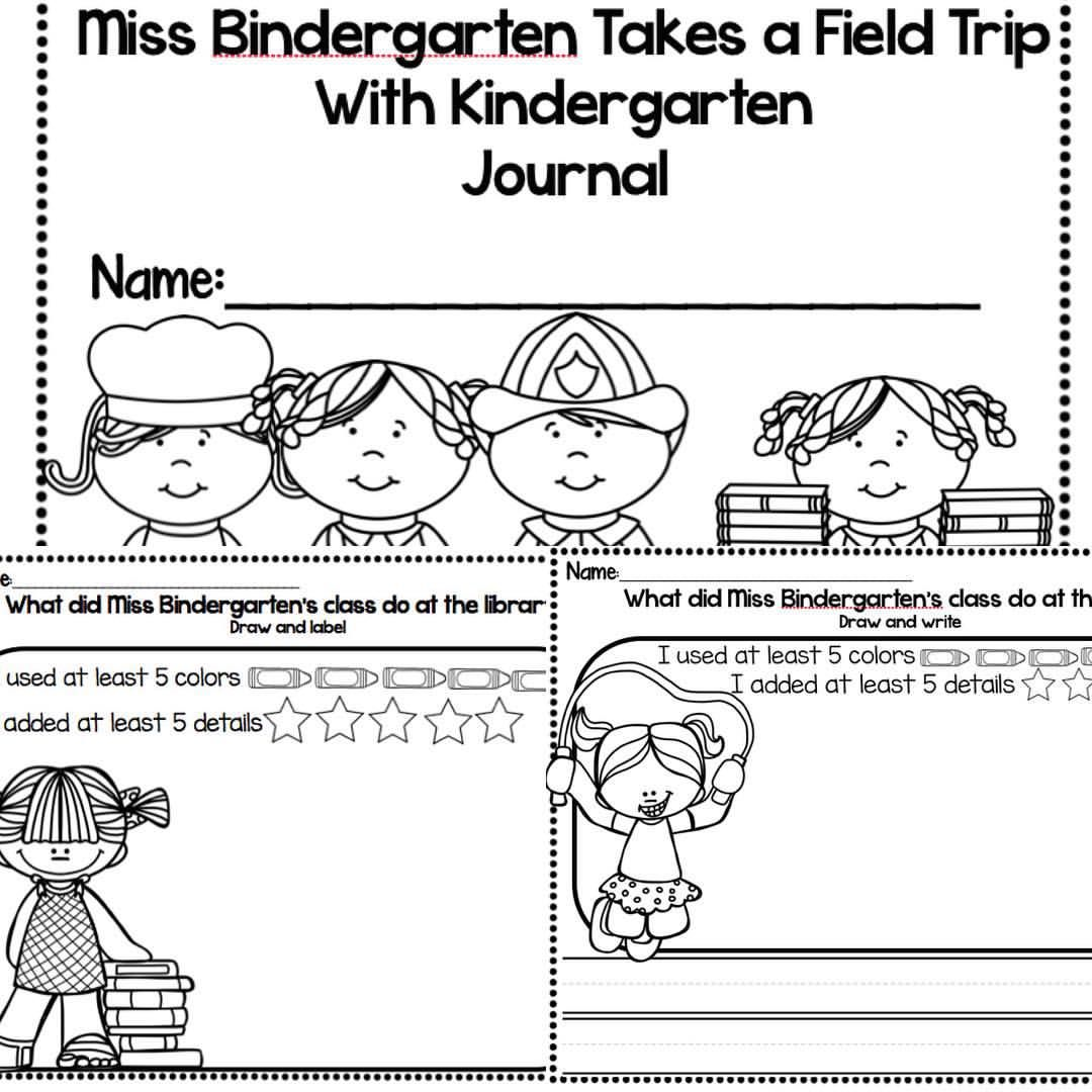 Now Only 1 00 Miss Bindergarten Takes A Field Trip Detail