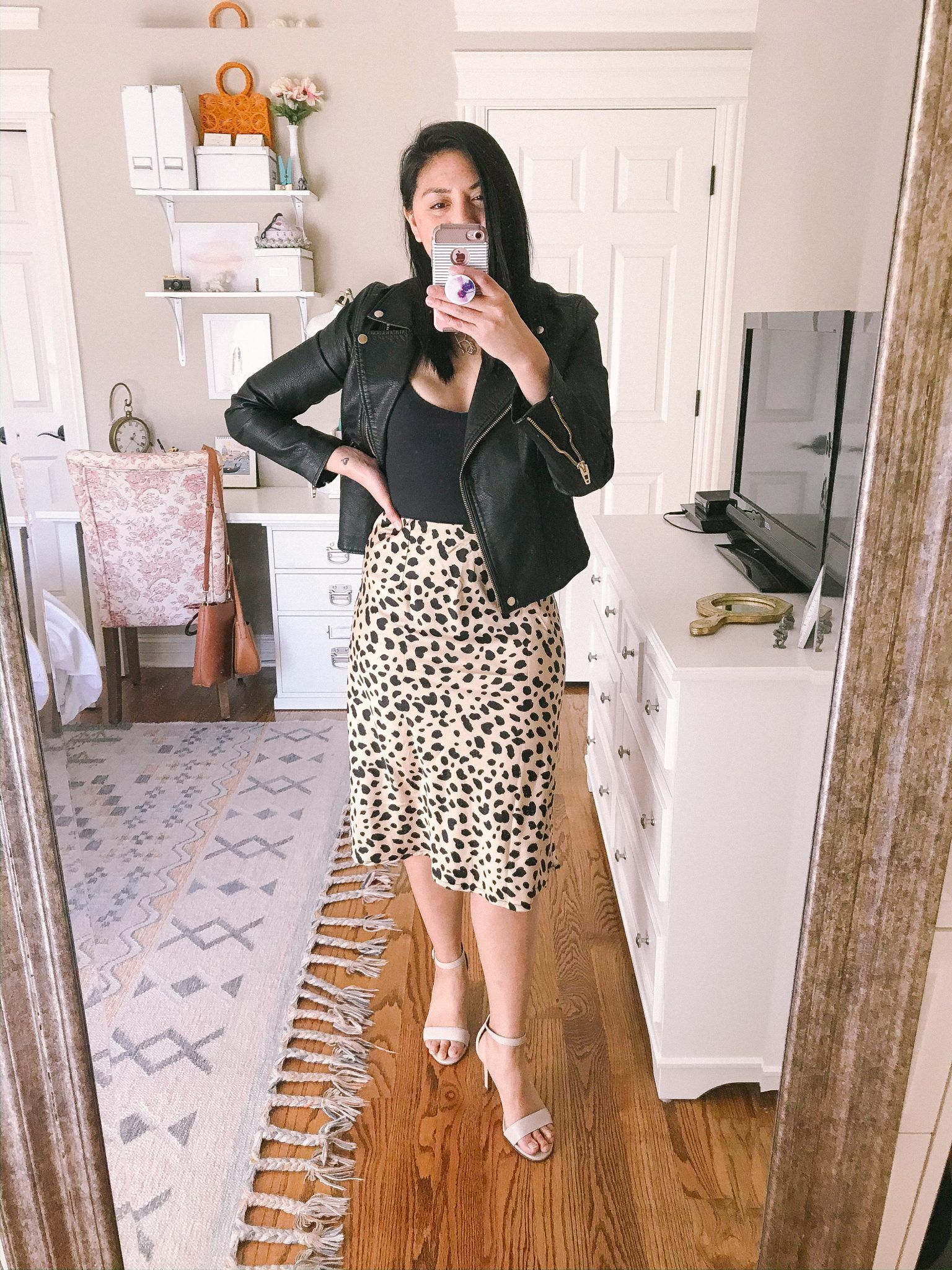 5 ways to style a leopard print slip skirt – RD's obsessions